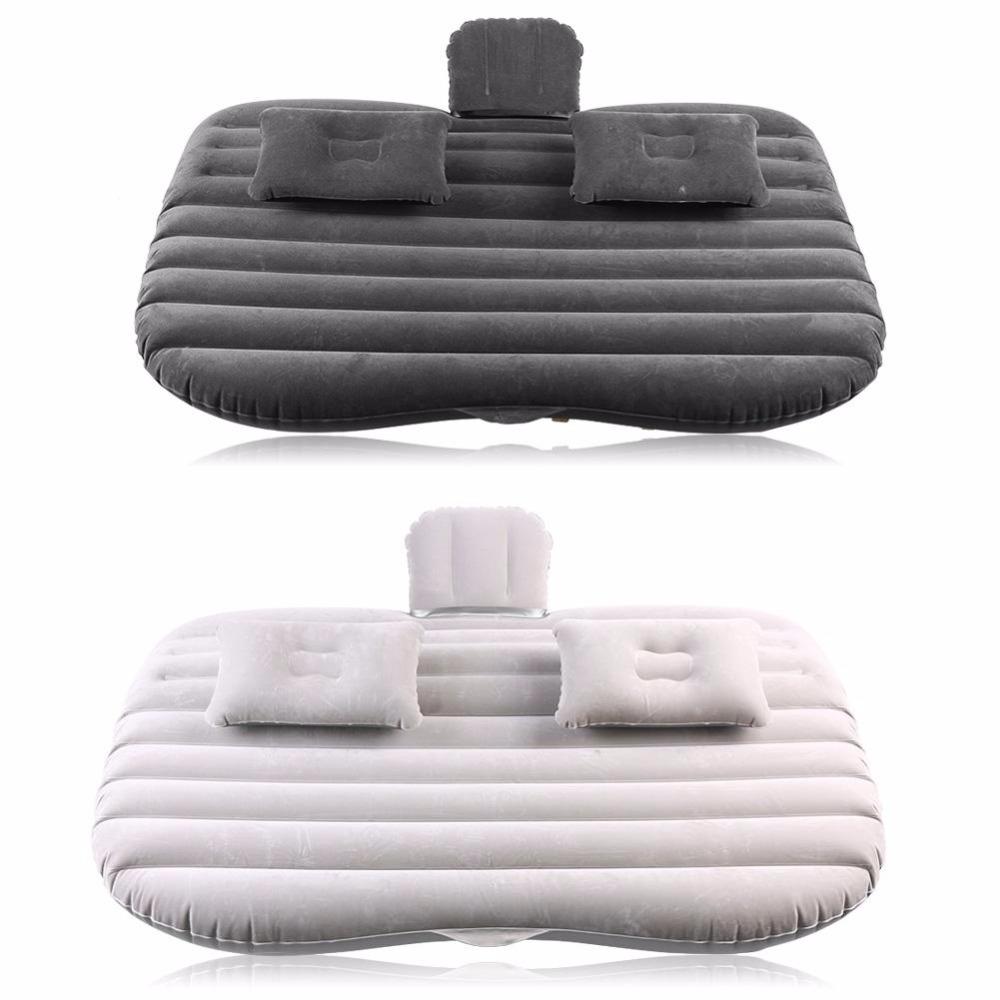 Car Air Mattress in Black and Grey